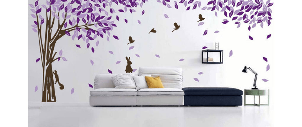decoración con vinilo