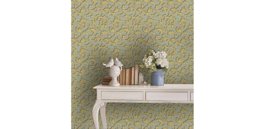 decoracion para cuartos con papel tapiz