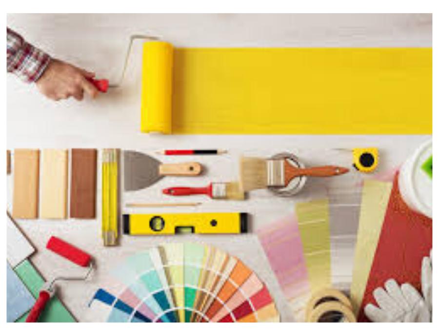 Mantenimiento de casa y colores