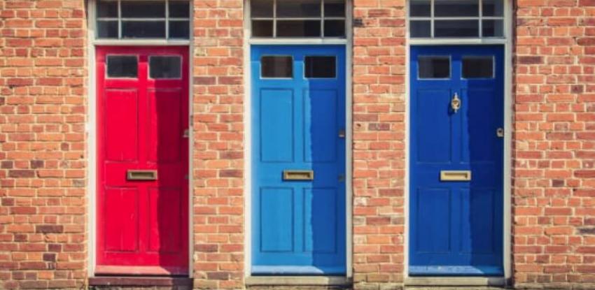 puertas de colores