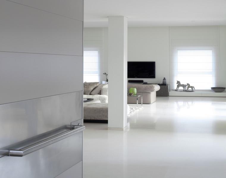salón color blanco