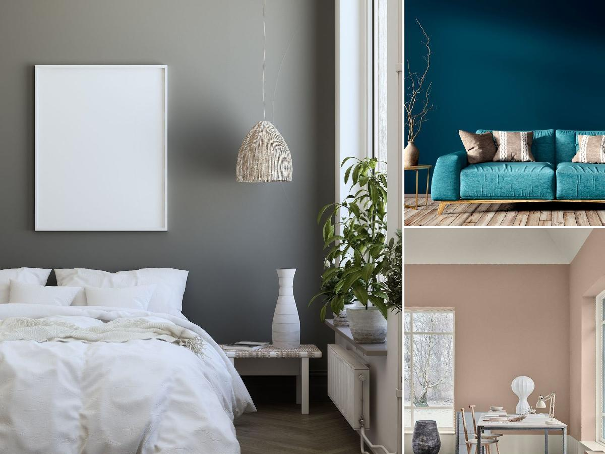 habitaciones con diferentes colores para interiores